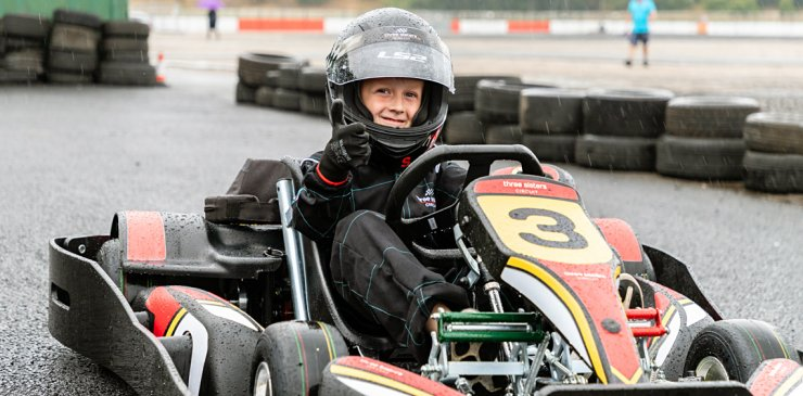 Bambino karting for 6-7 years olds